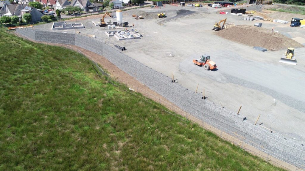 Residential Development Nearing Completion in Bearsden
