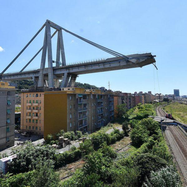 Morandi Bridge collapsed in Genoa city