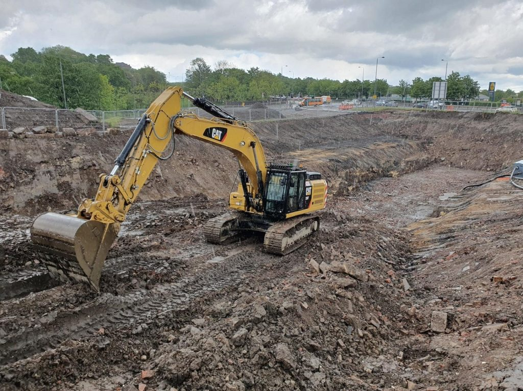 Temporary slope stability analytics for regeneration in Glasgow