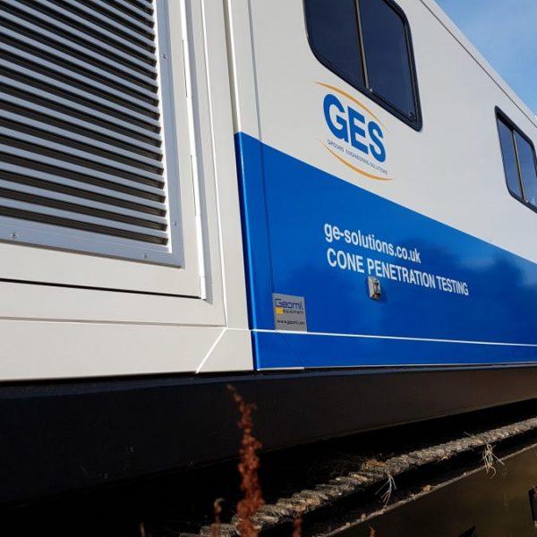 CPT contractor rig in Scotland